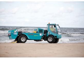 Smėlio valymo mašinos
