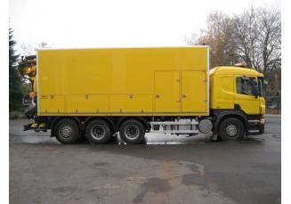 FFG Scania asenizacinis automobilis 2008m
