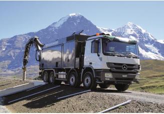 ESE 32  - 4 ir daugiau ašių važiuoklė su talpa iki 10m³